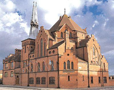 Gustaf Adolf Kyrka Church, Liverpool. the oldest Swedish church outside of Sweden