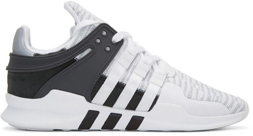 the best attitude 726ee e7fae adidas Originals - White EQT Support ADV Sneakers
