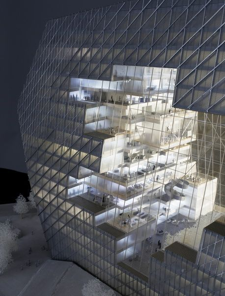 B ro ole scheeren axel springer cloud architecture for Buro architectes