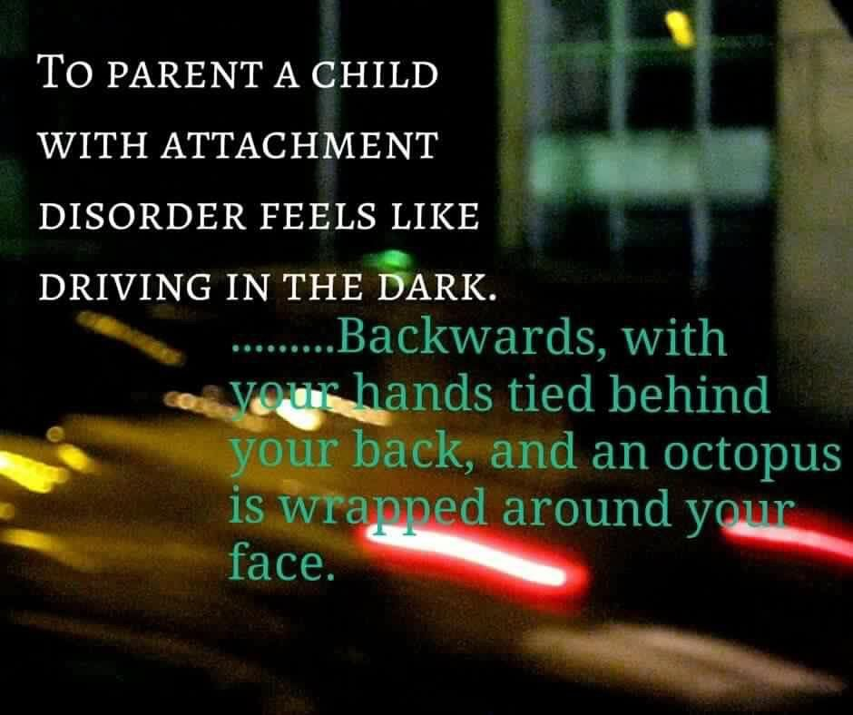 Parenting RAD Reactive attachment disorder, Family