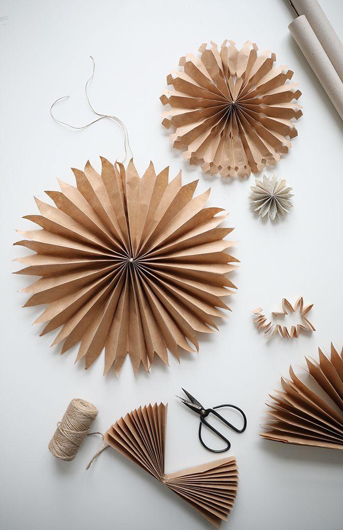 DIY: Pappersstjärnor (Trendenser)