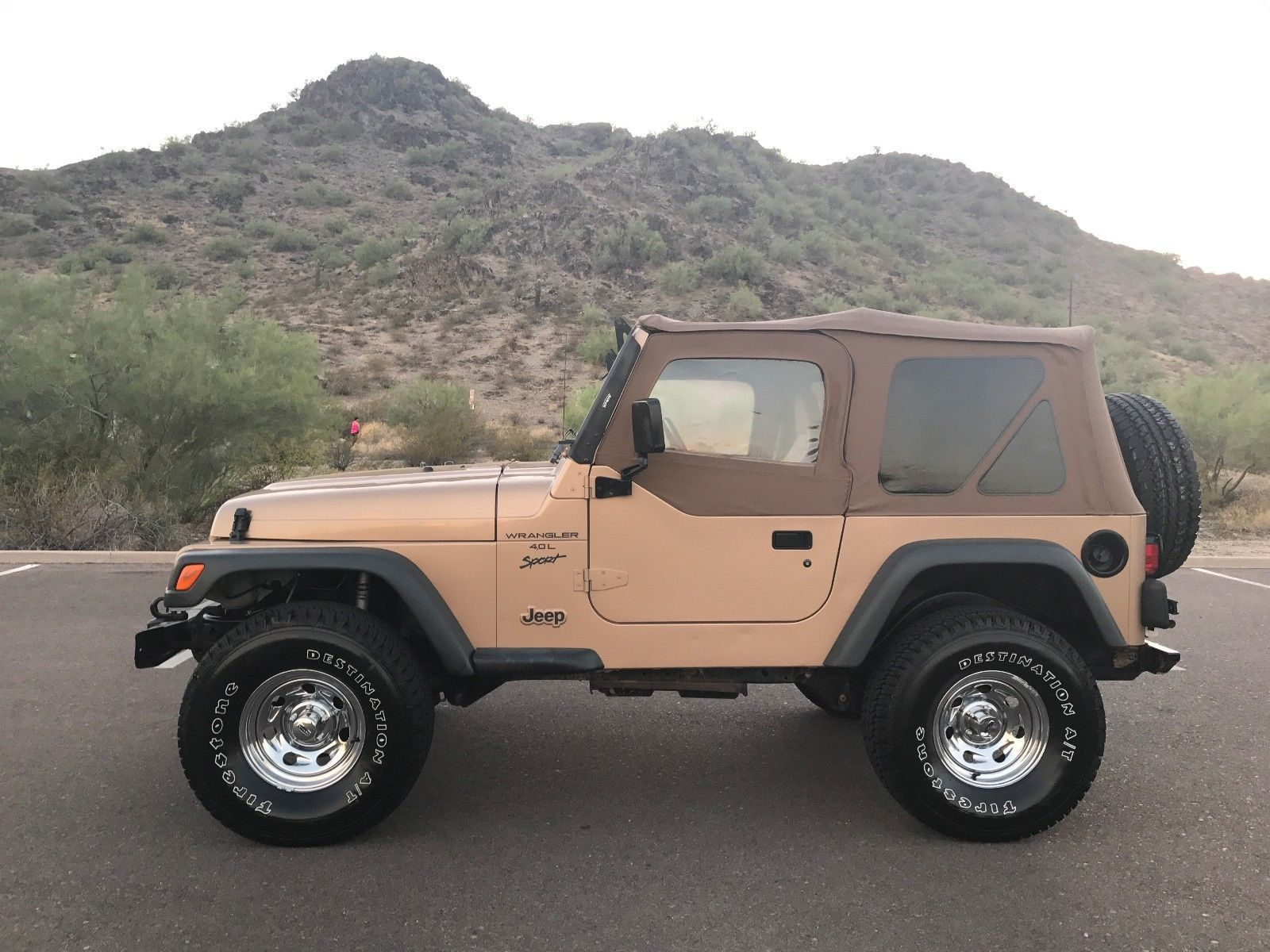 EBay: 1999 Jeep Wrangler 1999 Jeep Wrangler Sport 4.0L TJ Manual RUST FREE  AZ