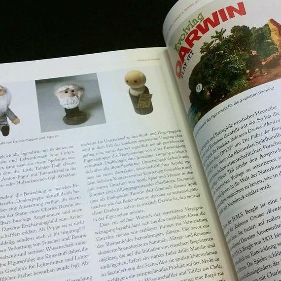 Charles Darwin Wooden Peg Doll Theory Of Evolution Origin Of