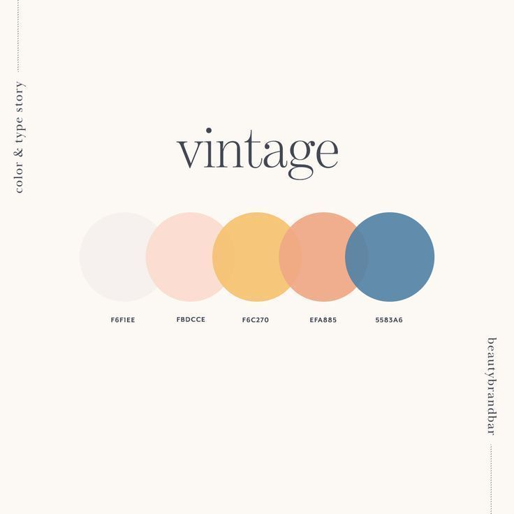 Photo of Vintage Color P… – #Color #farbpalette #Vintage