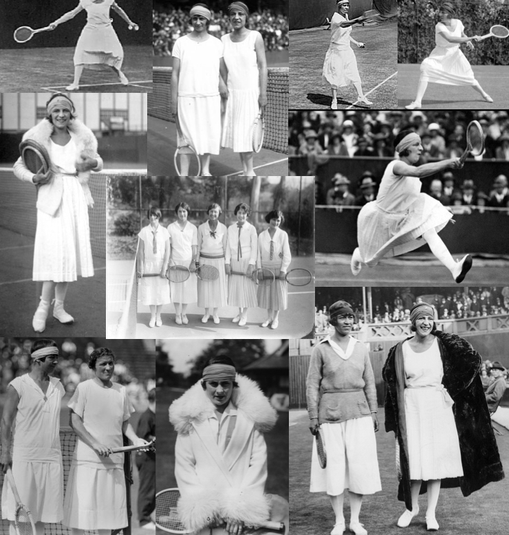 The Evolution Of Fashion In Women S Tennis Style Of Sorts Tennis Outfit Women Tennis Clothes Evolution Of Fashion