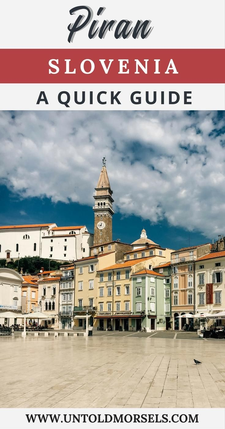 Piran Slovenias Jewel On The Adriatic Sea Slovenia Travel - 5 gems that make slovenia the adventure capital of eastern europe