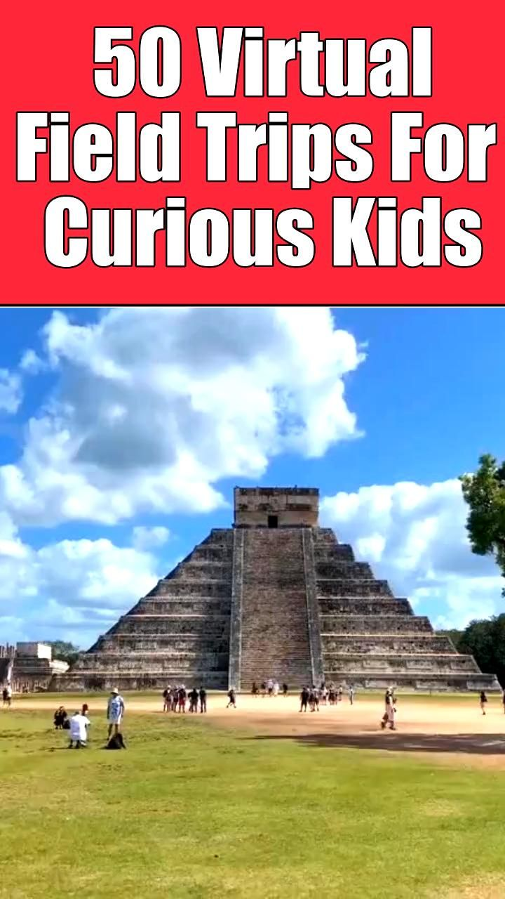 On the hunt for some fun and entertaining homeschool activities? We've got just the thing for you! Here are 50 fascinating virtual field trips and field trip activities for kids. Perfect for curious kids who love to learn! Featuring ancient civilizations, space tours, off limit, secret places and US landmarks. Ideal homeschool activities for kids who love geography or exploring! #homeschool #kidsactivities #learning #indooractivities #fieldtrips #parentingadvice #homeschooling