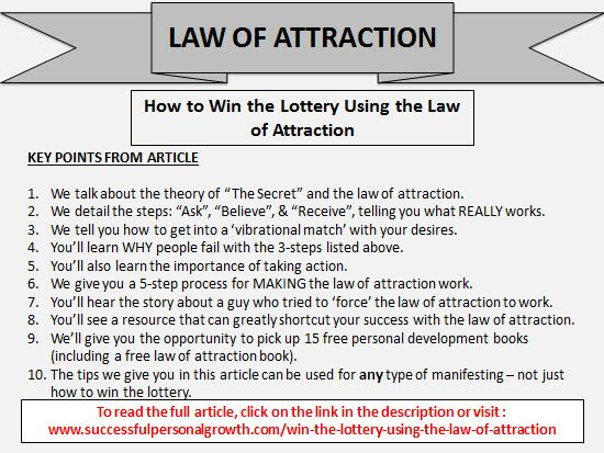 Pin by Successful Personal Growth on Law of Attraction Articles