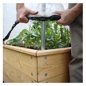 Fitted Hoops And Mesh Protection Covers Are Easy To Fit To Your Wooden  Raised Bed Planters