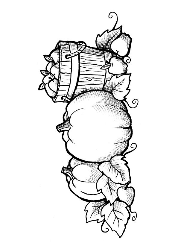 Print Coloring Image Momjunction Pumpkin Coloring Pages Fall Coloring Pages Coloring Pages