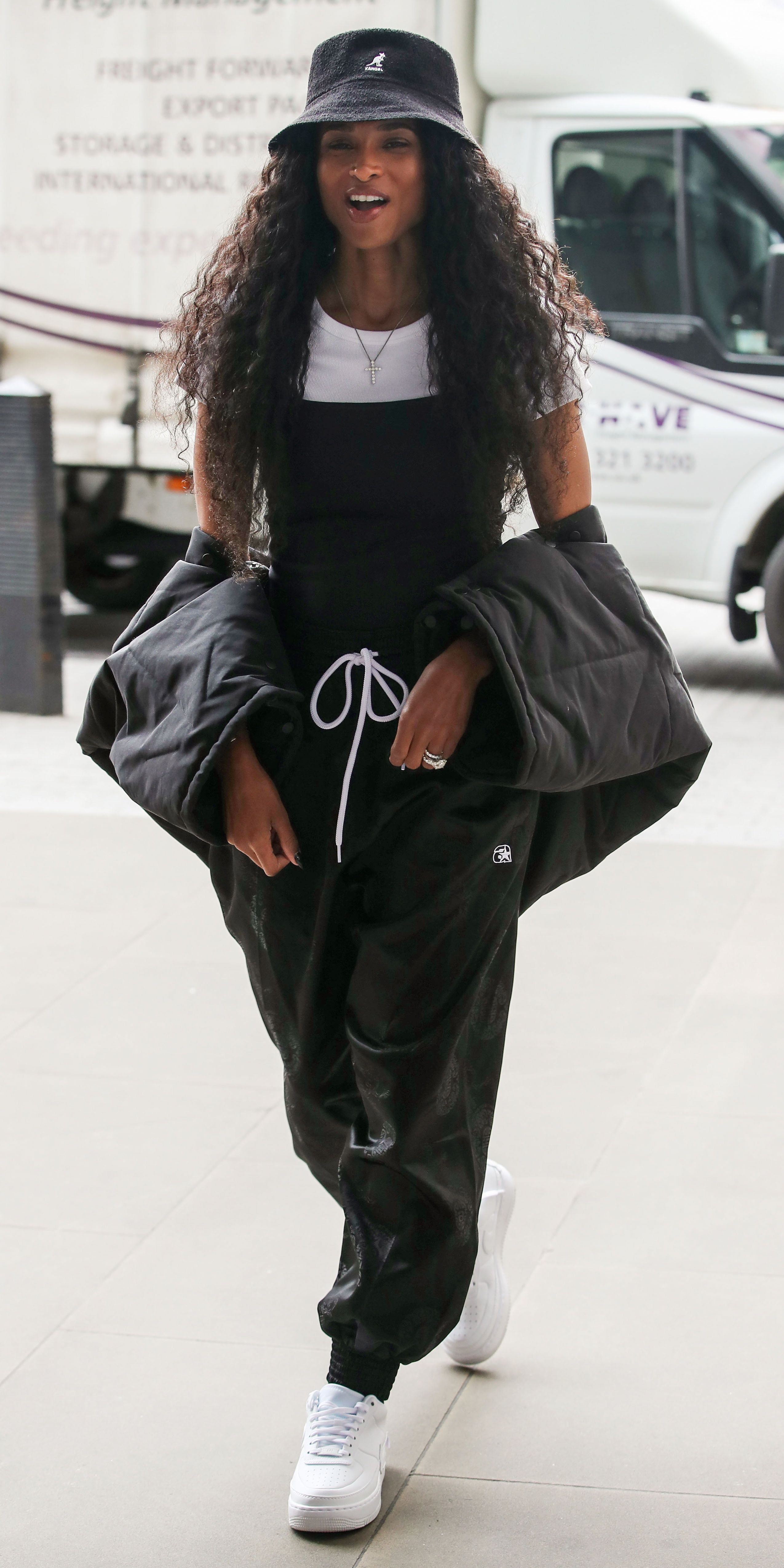 Look Of The Day Outfits With Hats Ciara Style Black Girl Fashion