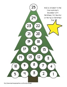 Christmas Countdown 4 Super Cute Printable Ways To Count