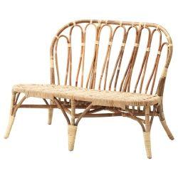 JASSA Sofá Muebles de caña, Sofá ikea, Muebles de bambú