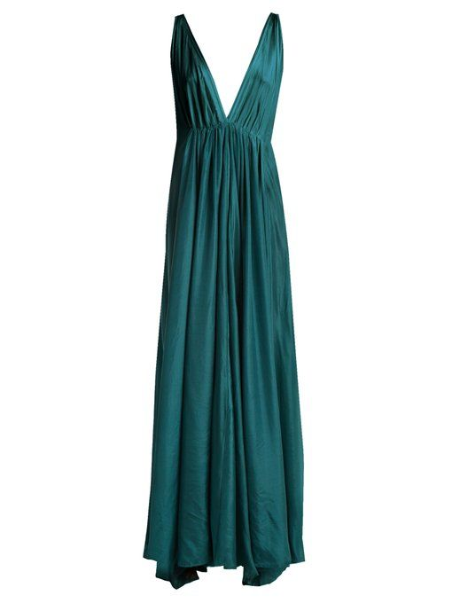 Online Cheapest  Clemence silk-habotai maxi dress Kalita Genuine Cheap Online Free Shipping Official Site nv0pVG