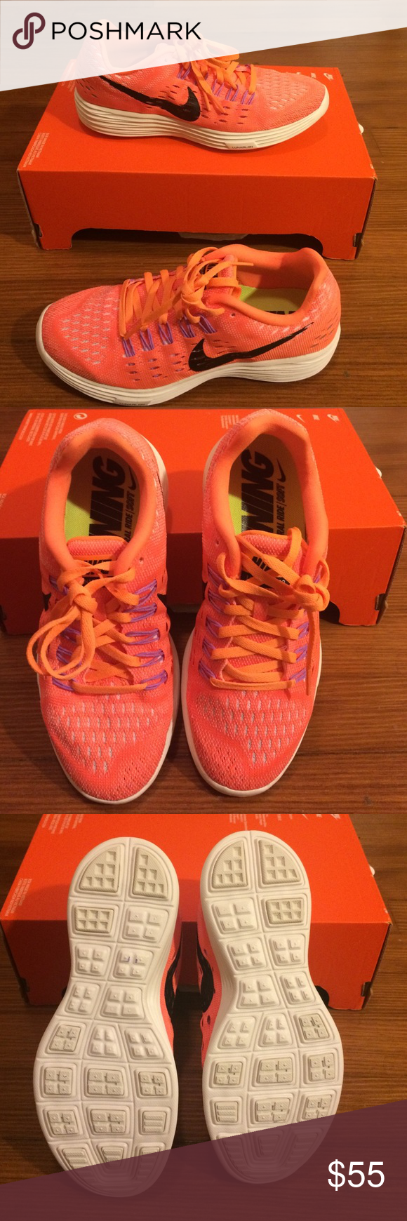 Nike LunarTempo These shoes combines the lightweight fit of a racing shoes with soft Lunarton cushioning for an ultra smooth ride. Ideal for Tempo training and long distance. Original Box not included Nike Shoes Sneakers