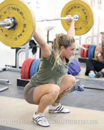Overhead Stability In The Snatch Workout Inspiration Today Olympic Weightlifting Crossfit Equipment Workout