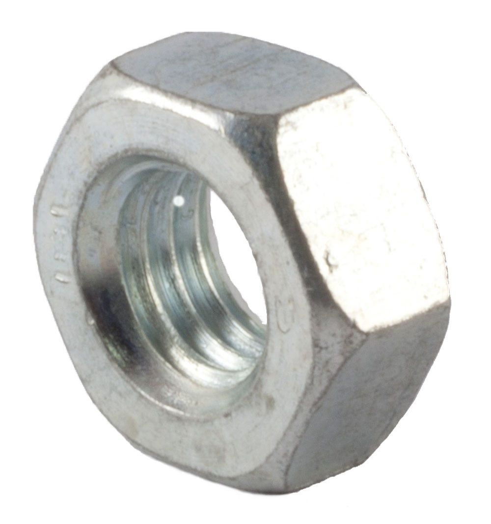 M8 1 25 Finished Hex Nut Din 934 Class 10 Zinc Plated In 2020 Zinc Plating Hex Nut Screws And Bolts