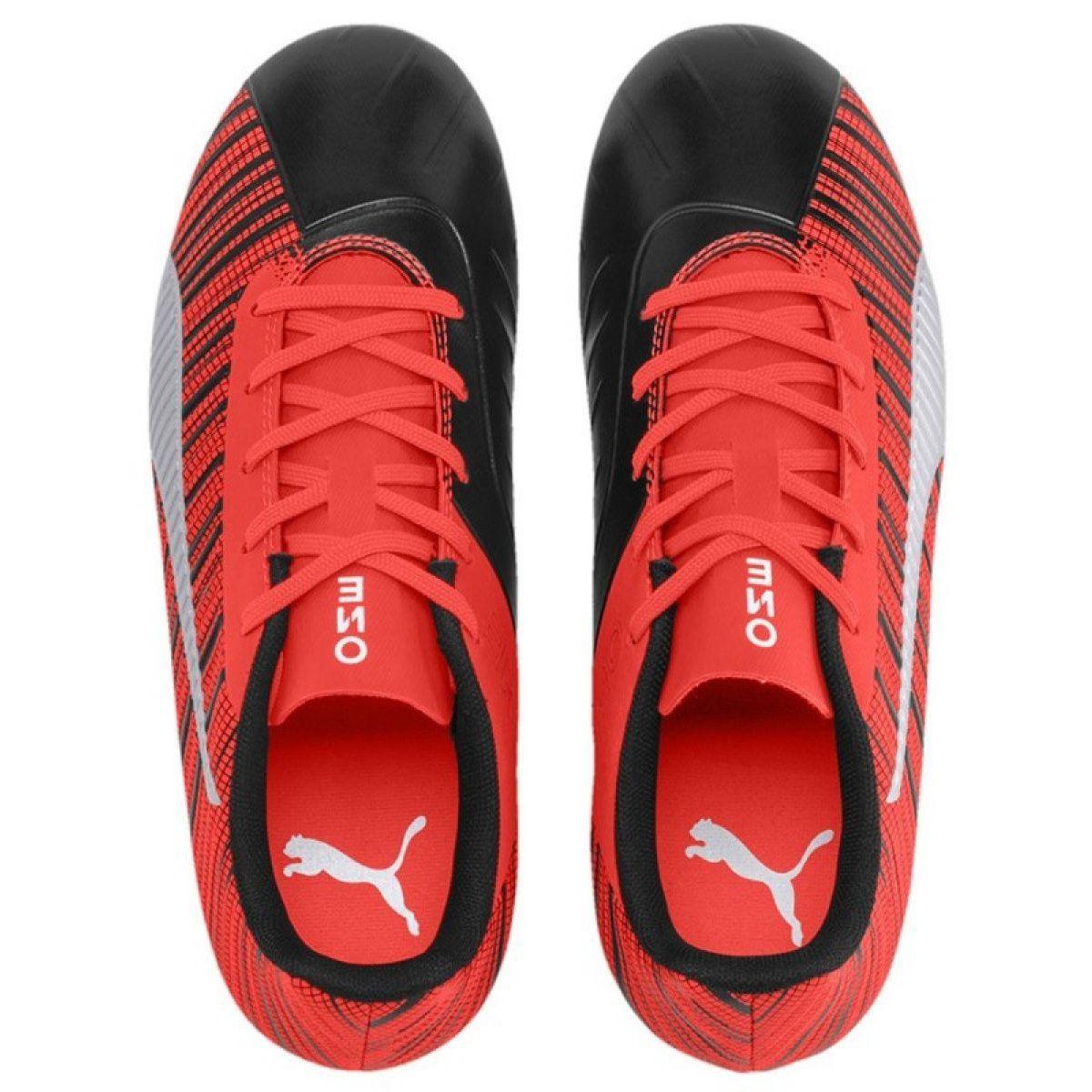 Buty Puma One 5 4 Fg Ag M 105660 01 Czerwony Czerwone Czerwone Football Boots Football Shoes Puma