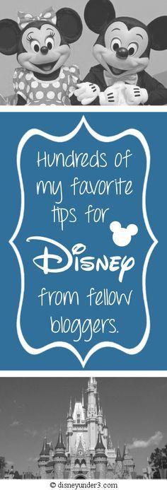 Disney Under 3 - Disney Tips from Fellow Bloggers