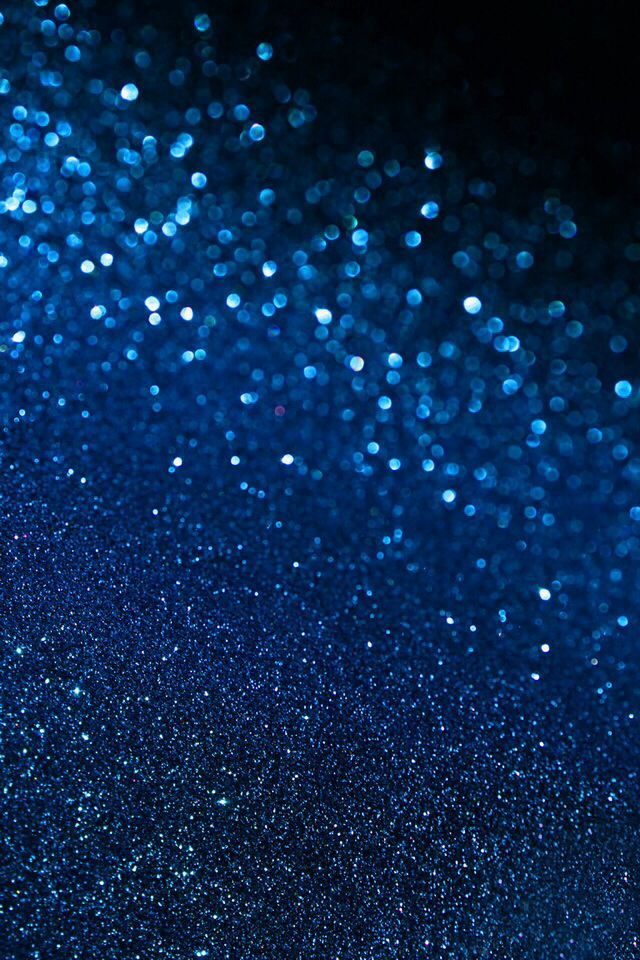 Dark Blue Wall Glitter
