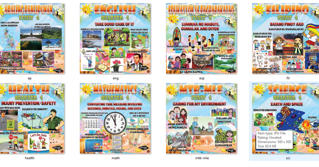 High Quality Bulletin for Grade 3 (4th Quarter) DOWNLOAD HQ