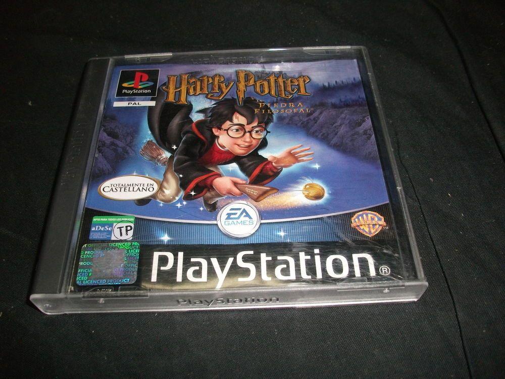 Juego Para Consola Play Station 1 Ps1 Harry Potter Y La Piedra