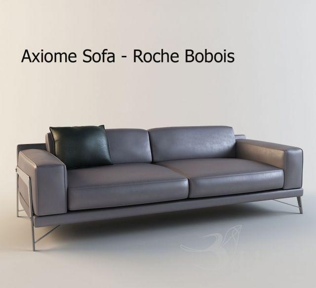 """PROFI"" Roche Bobois / Axiome 3dsMax 2012 + fbx (Vray) : Диваны : Файлы : 3D модели, уроки, текстуры, 3d max, Vray"