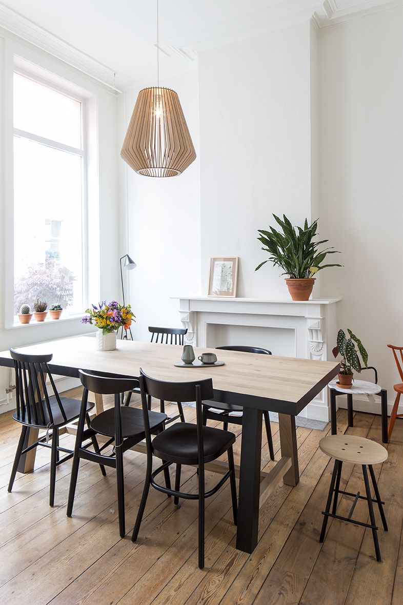 ... Floors N More By Ground Floor Of Huiszwaluw Home Table And Chairs By  Atelier N 7 ...