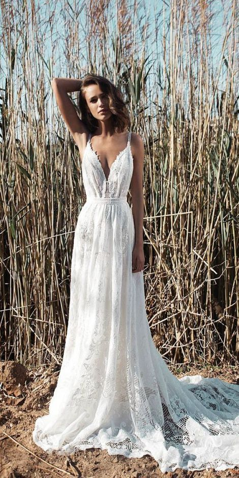 20 Dreamy And Whimsical Boho Beach Wedding Dresses Sheereverafter Com Your Online Maid Of Hon Wedding Dress Guide Casual Wedding Dress Wedding Dresses Lace