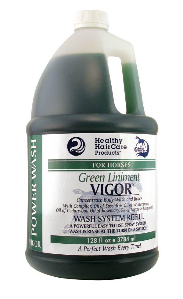 Healthy HairCare Vigor Liniment & Power Wash Gallon Refill
