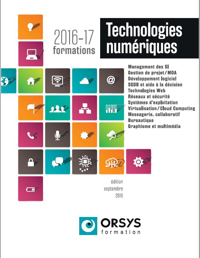 Nouveau catalogue informatique orsys 2016 2017 nos for Nouveau catalogue maison du monde 2017