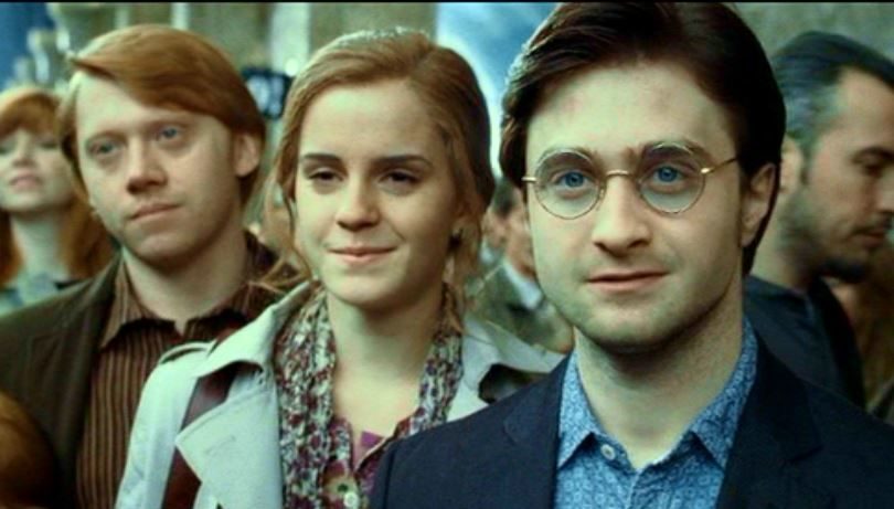 19 Years Later Harry Hermione And Ron