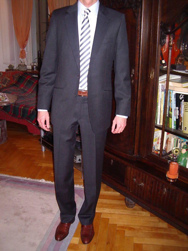 Dark Charcoal Suit And Browntan Shoes Photos Insinde Groomsmen