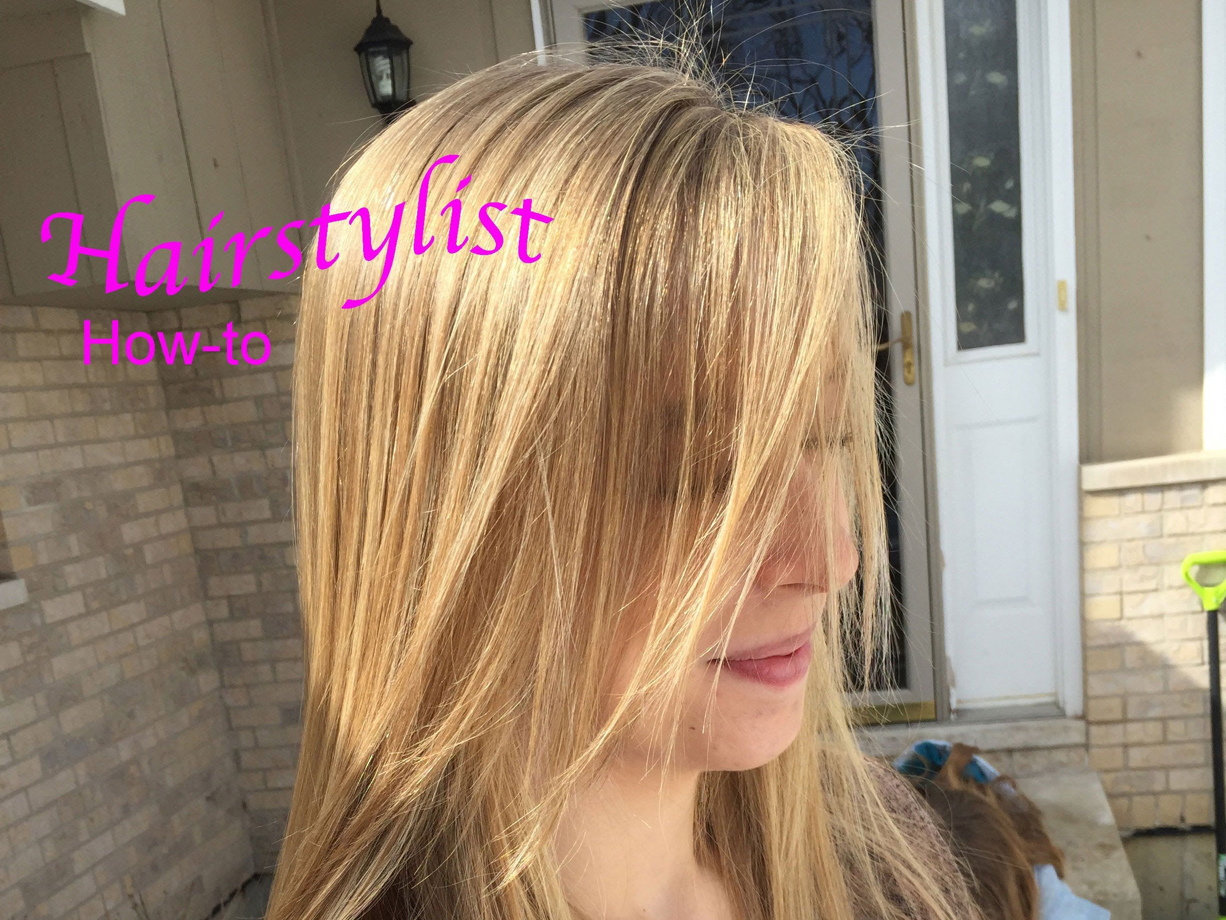 How To Do Babylights Hair Tutorial Natural Looking Highlights Hair Tutorial Babylights Hair Hair Highlights