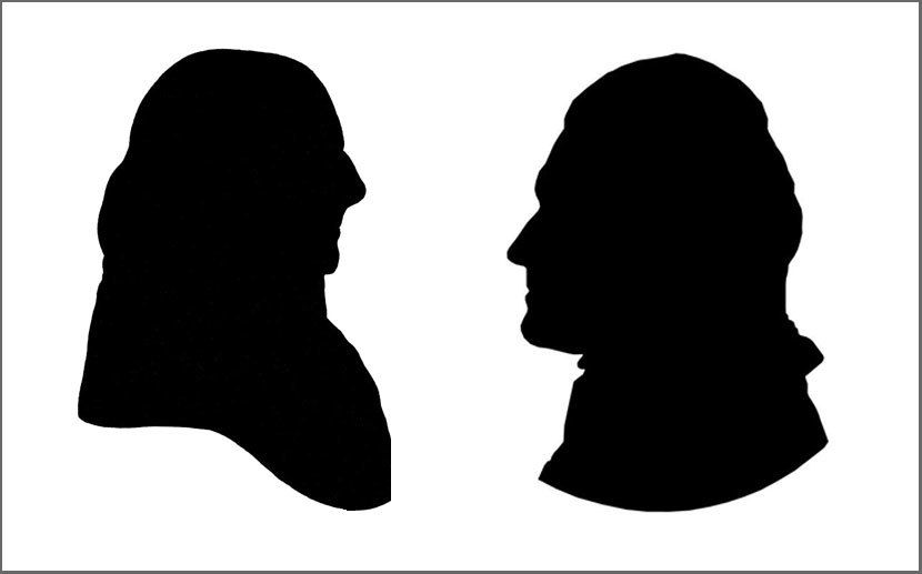 Image Result For Thomas Jefferson Silhouette Silhouette Human Silhouette Portrait