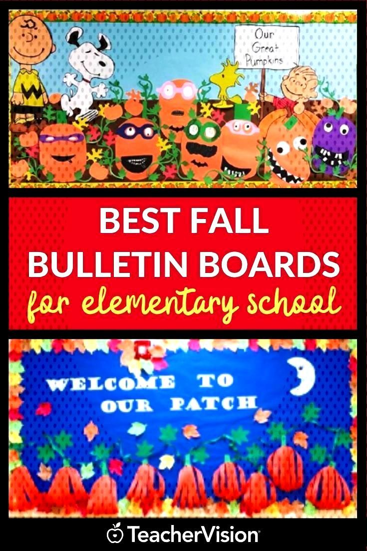 Our Favorite Fall Bulletin Boards and Classroom Door Decorations Fall bulletin boards for school cr