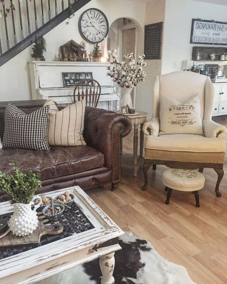 40+ Amazing French Country Living Room Decor Ideas   Living room ...