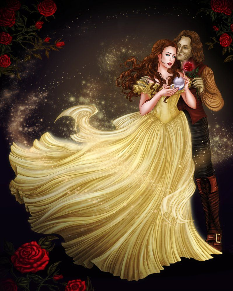 belle and rumpelstiltskin from once upon a time this was