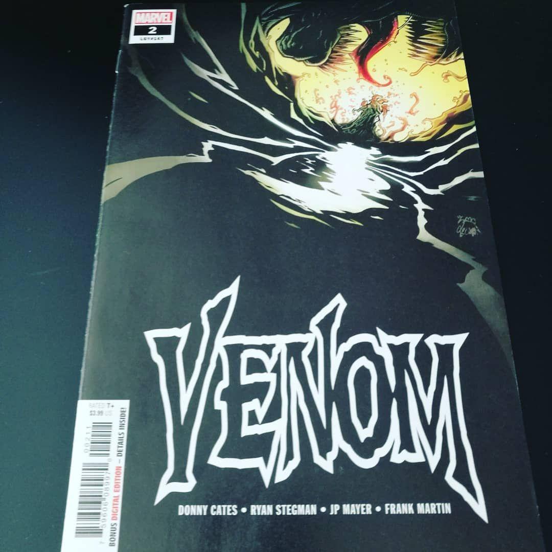 "Petri Hooli on Instagram: ""Venom number two now reading"