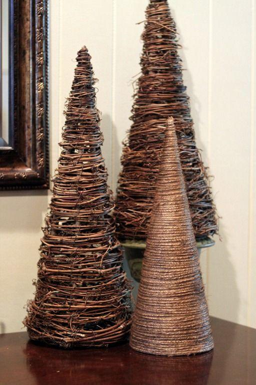 45 Cute Cone Shaped Christmas Trees Christmas Cones Christmas