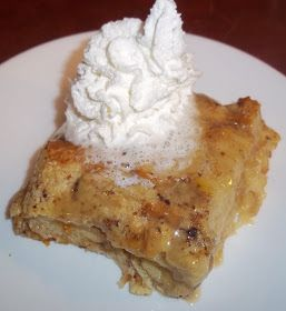 The Daily Smash Simple Bread Pudding With Vanilla Sauce Bread Pudding Easy Bread Pudding Vanilla Sauce