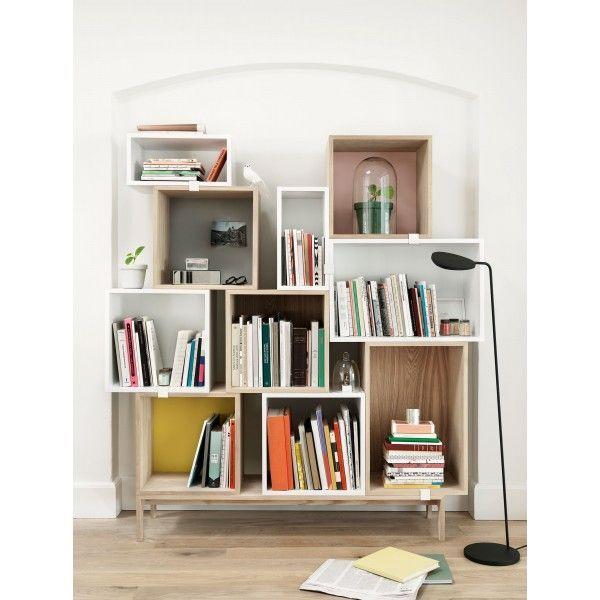 Muuto Stacked Kast Small Storage Shelf Furniture