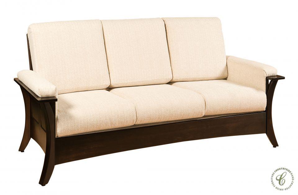 Rockefeller Amish Shaker Sofa Wooden