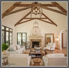 Scissor Trusses lighting for a vaulted ceiling Google Search