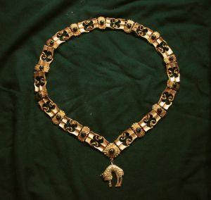 $150  The Order of the Golden Fleece collar