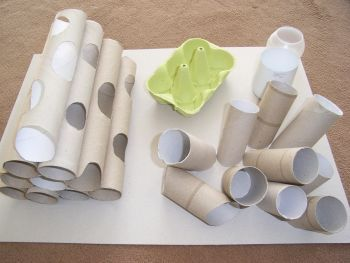 kfb s aus karton kreatives pinterest karton katzen und katzenspielzeug. Black Bedroom Furniture Sets. Home Design Ideas