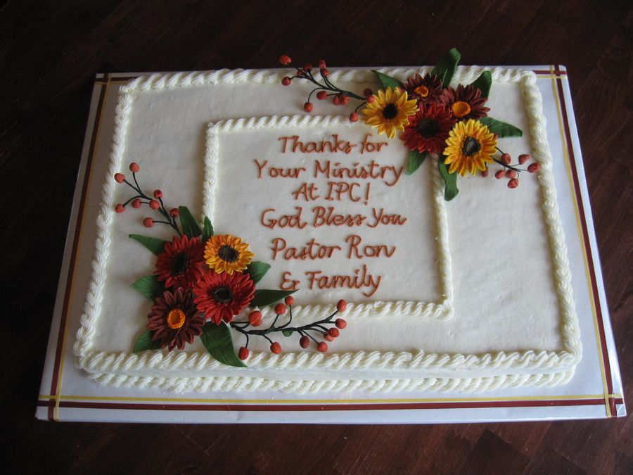 Pastor Appreciation 10 Ways To Say It With Cake With Images
