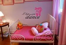 Girls Bedroom Themes Dancing 4