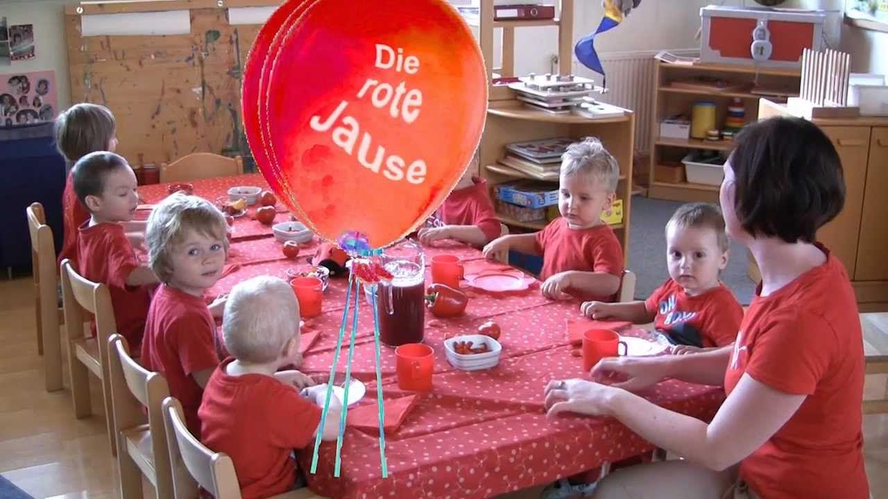 "Farbentag ""ROT"" -  MINIS Kinderkrippe Bad Waltersdorf"