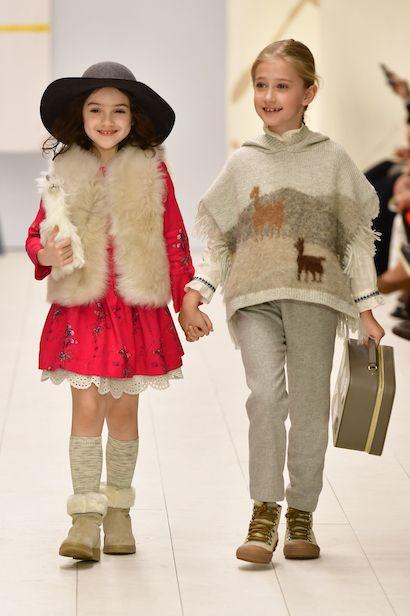 Bonpoint Winter 2018 Show Kids Fashion Fashion Girl